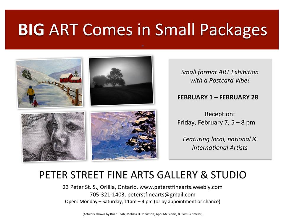 Big Art Comes in Small Packages show 2014