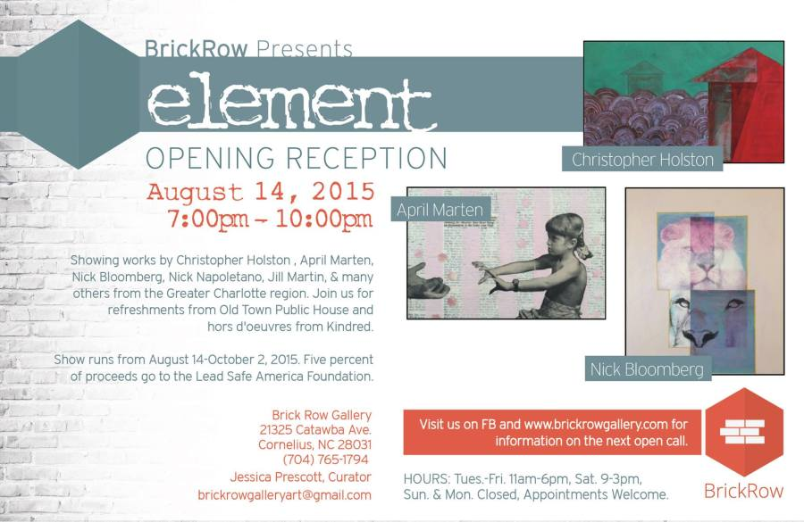 Element Art Reception Post Card