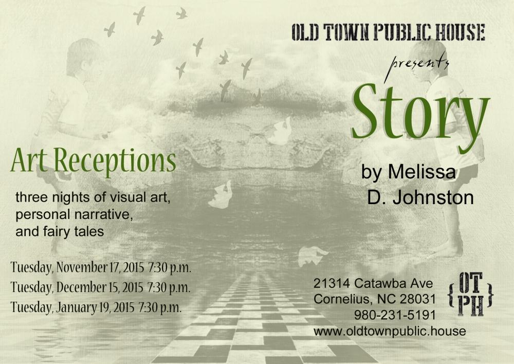 Melissa D. Johnston Story Art Receptions Postcard