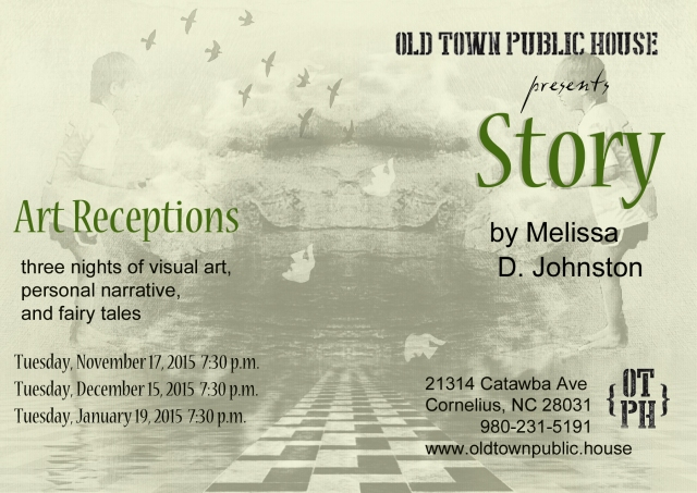Melissa D. Johnston Story Art Receptions Postcard